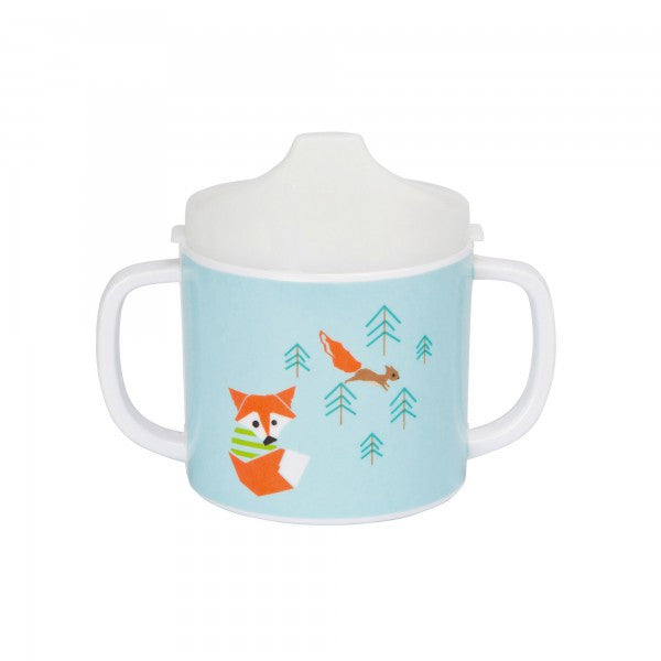 Dish Cup Melamine/Silicone Little Tree