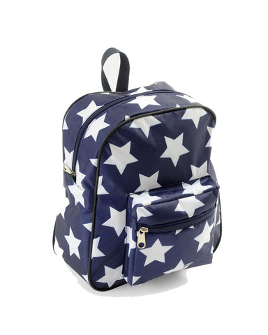 BACKPACK,NAVY WITH WHITE STAR