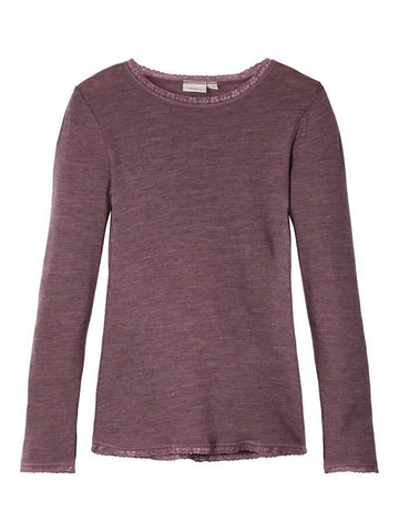 NKFWang Wool Needle LS Top NOOS