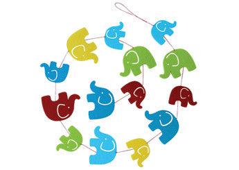 Wallhanger Elephant