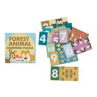 counting puzzle, Forest 1- 10
