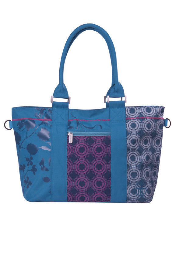 Casual City Shopper Bag Colorpatch petrol