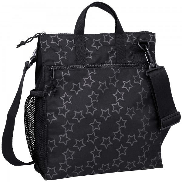 CASUAL BUGGY BAG BLACK STAR