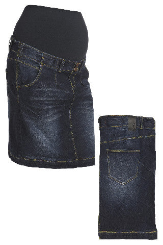 GRACE DENIM MINI SKIRT 112