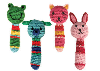Crochet Animal Rattle Classic