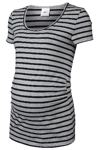 SOFIA S/S STRIPED TOP-BASIC 2PACK