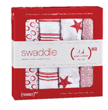 RED exclusive swaddle 2 pack