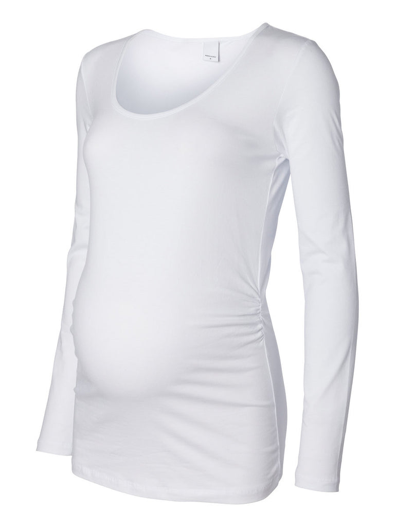 MAMA MIA LS TOP 513 BRIGHT WHITE