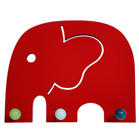 COAT RACK OSCAR RED