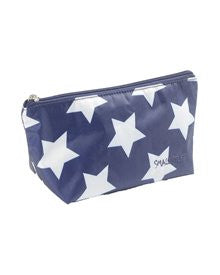 SMALL TOILETBAG,NAVY WITH WHITE STAR