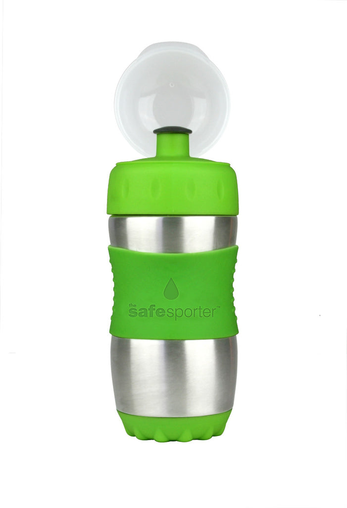Kid Basix Safe Sporter Lime 355ml - 211