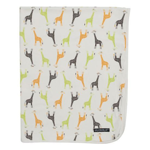 111CT REVERSIBLE BLANKET GIRAFFE