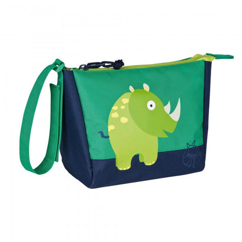 Mini Washbag Wildlife Rhino