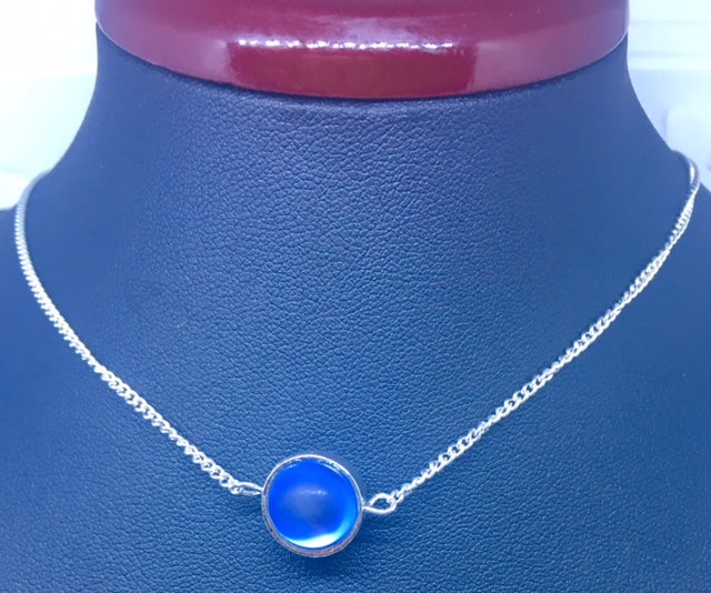 "COLLIER ""BLUE MOON"""
