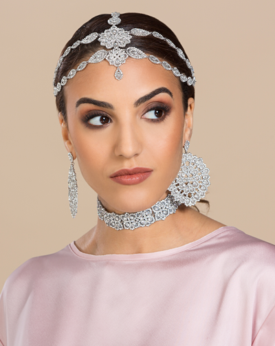 Queen Tiara Antique Silver