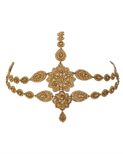 Queen Tiara Antique Gold