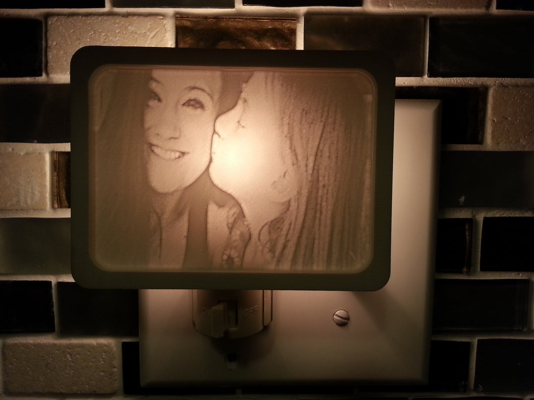 Photo Night Light Lithophane