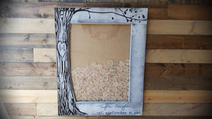 Wedding Guestbook Alternative - Heart Guestbook