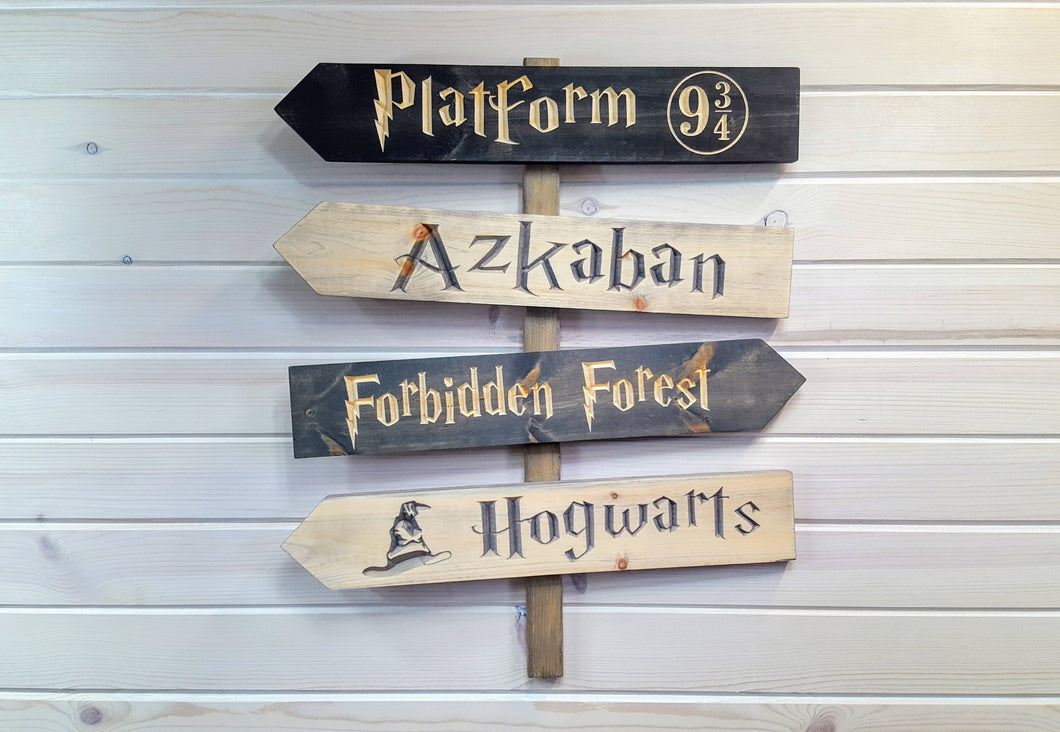 Harry Potter Road Sign