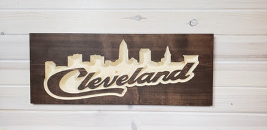 Cleveland Skyline V2.0 - Rectangle