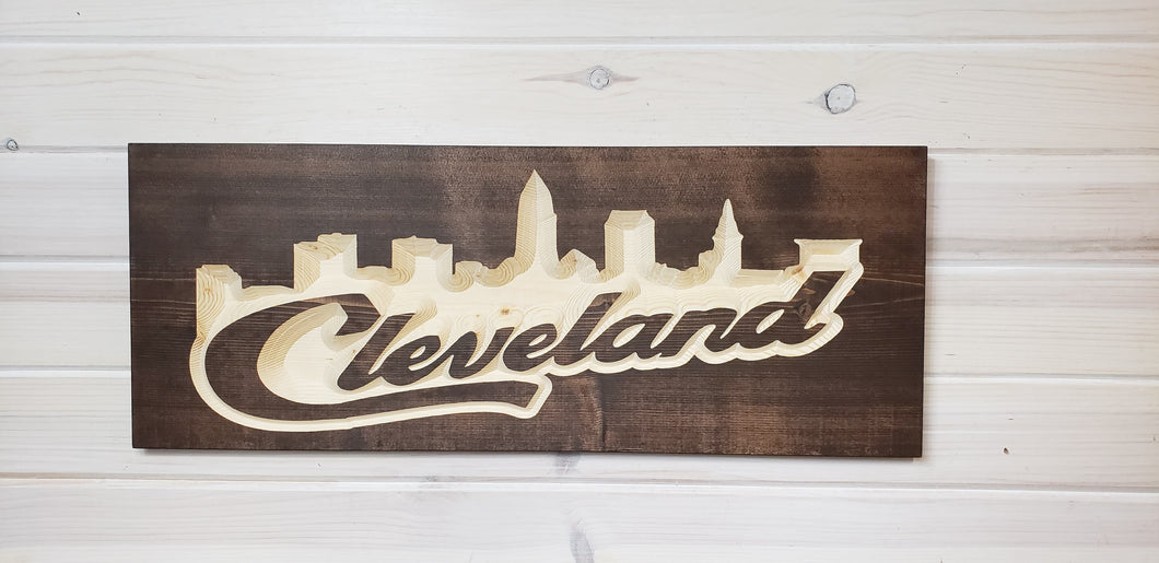 Cleveland Skyline V2.0 - Rectangle - Wholesale