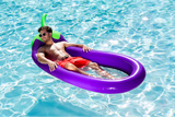 🍆  Giant Eggplant Lounge Emoji Pool Float
