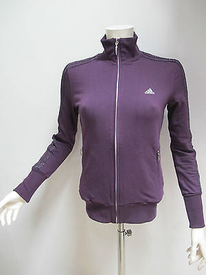 ADIDAS felpa donna con zip art.SPIRIT OF DAN L09338 col.BORDEAUX tg.42 inv.2012 - dodo.club