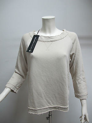 EUROPEAN CULTURE felpa donna art.45R0 col.BEIGE tg.M estate 2013 - dodo.club