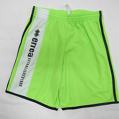 ERREA' REPUBLIC short uomo mod.JONAH col.VERDE FLUO/BIANCO tg.XS estate 2013 - dodo.club