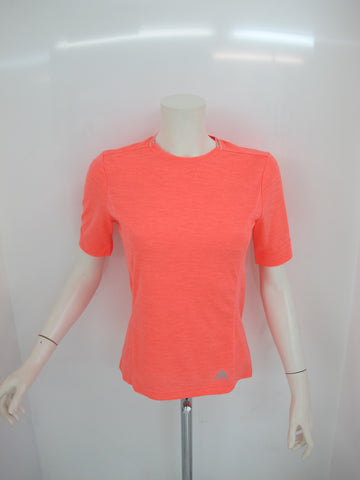ADIDAS t-shirt donna manica corta SN AK2106 colore ARANCIO estate 2016