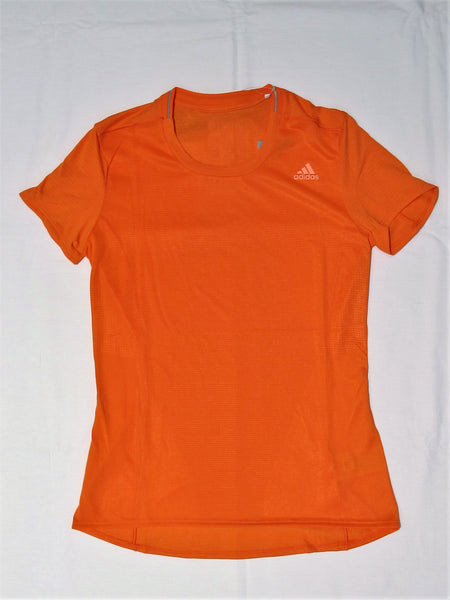 ADIDAS t-shirt donna running SN SS TEE BR5880 colore CORALLO inverno 2017