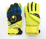 UHLSPORT guanti portiere SPEED UP NOW SOFT HN COMP 1011028 01 colore GIALLO luglio 2017