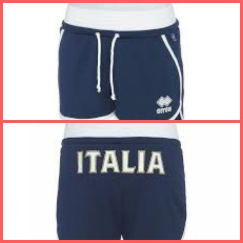 ERREA' SPORT short donna volley NAZIONALE ITALIANA  SP4Y6Z0190990FIV 18/19