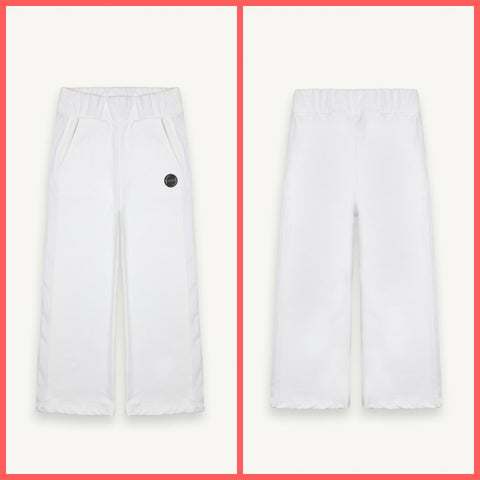 COLMAR ORIGINALS pantaloni donna felpa 9061 5UL WISDOM 01 BIANCO estate 2020