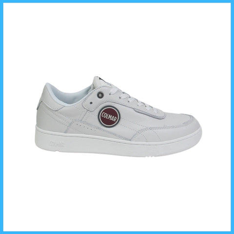 COLMAR scarpe sneaker uomo pelle FOLEY LEATHER 029 BIANCO estate 2021