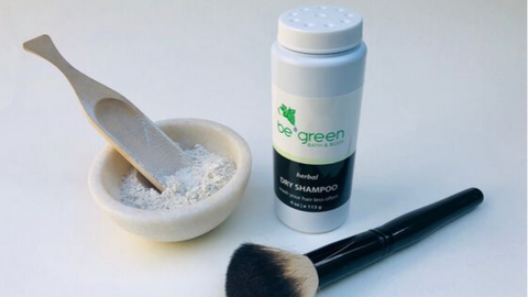 Be Green Bath and Body powder Dry Shampoo