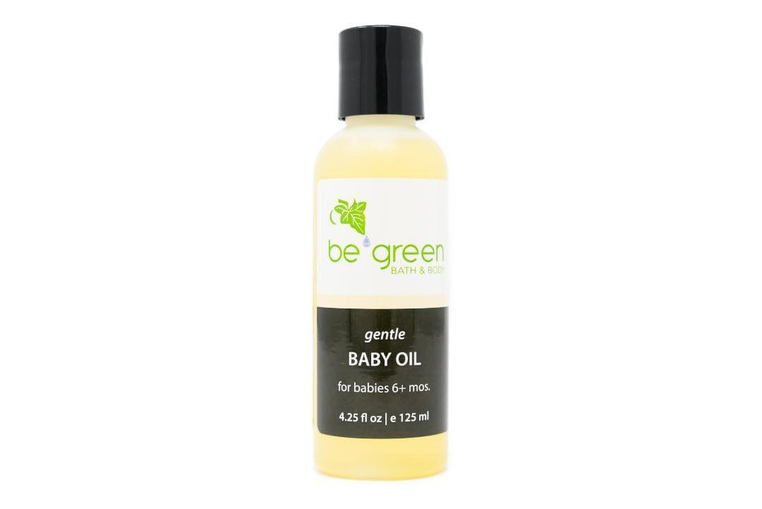Gentle Baby Oil - Be Green Bath and Body