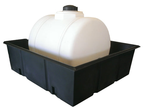200 Gallon Spill Containment Tray | Spill Containment Basin | Secondary Containment Tank | Water Container Store