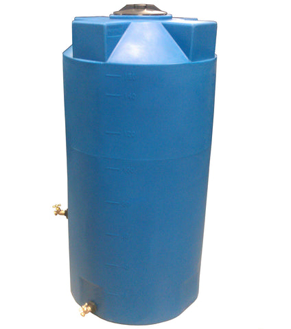 150 Gallon Emergency Water Storage Container | Light Blue | Water Container Store