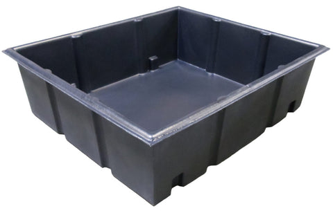200 Gallon Spill Containment Tray | Black | Water Container Store