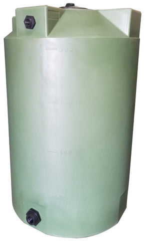 200 Gallon Water Storage Container | Olive Green | Water Container Store