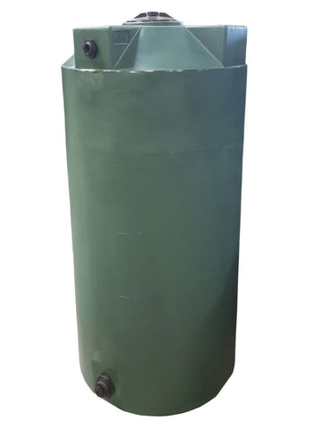 250 Gallon Water Storage Container | Dark Green | Water Container Store