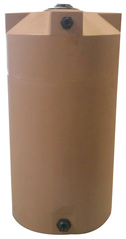250 Gallon SunShield Water Storage Container | Light Brown | Water Container Store