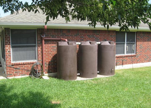 250 Gallon Rainwater Storage Container | Rain Harvesting Tank | Rain Collection Tank | Water Container Store