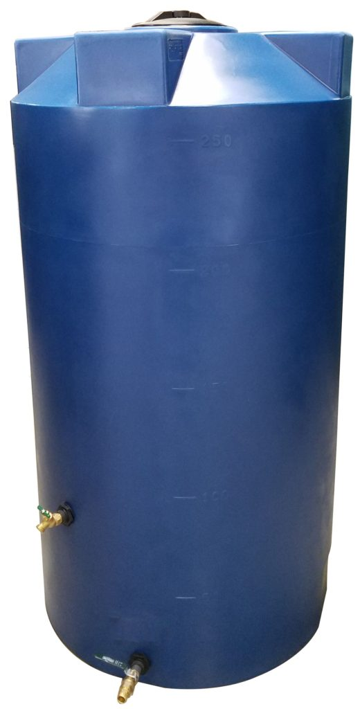 250 Gallon SunShield Emergency Water Storage Container - Water Container Store