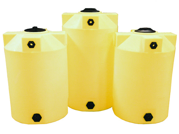 125 Gallon Crosslinked Chemical Storage Container - Water Container Store