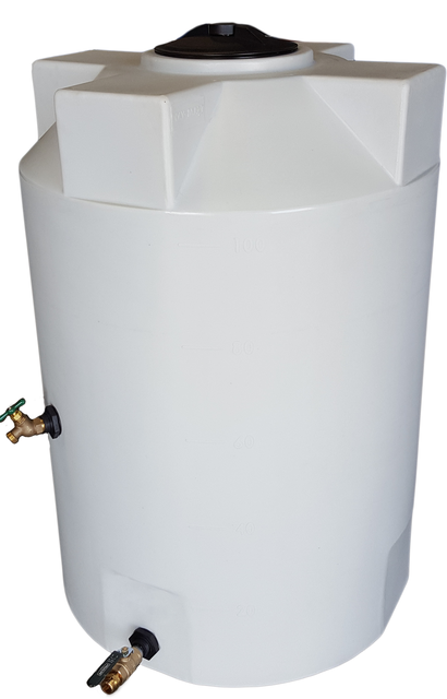 100 Gallon Heavy Weight SunShield Emergency Water Storage Container - Water Container Store