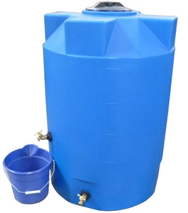 100 Gallon Heavy Weight Emergency Water Storage Container - Water Container Store