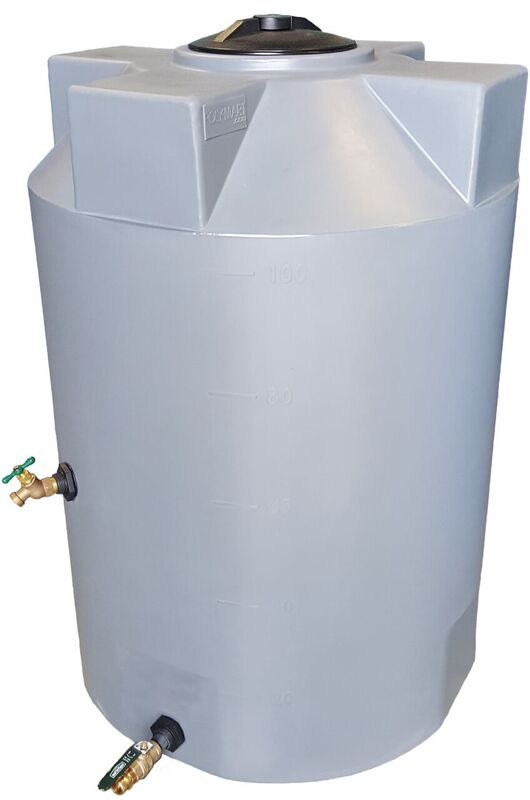100 Gallon SunShield Emergency Water Storage Container - Water Container Store