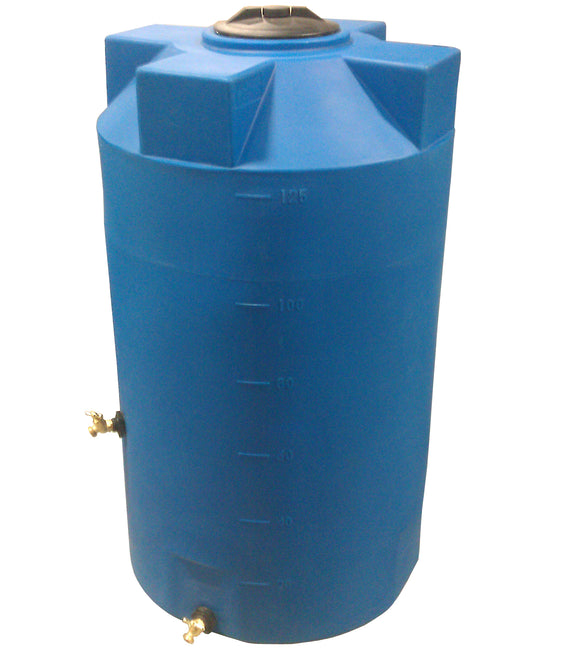 125 Gallon SunShield Emergency Water Storage Container - Water Container Store